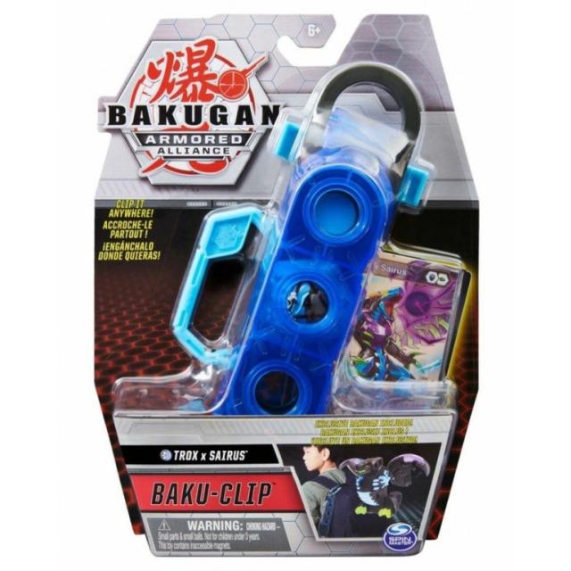 Obrázek produktu Bakugan Kufřík s karabinou Trox x Sairus