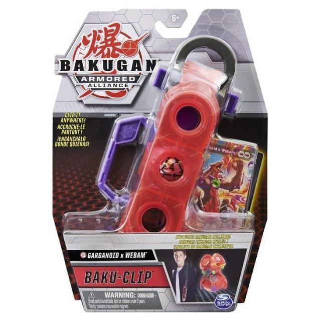 Obrázek produktu Bakugan Kufřík s karabinou Garganoid x Webam