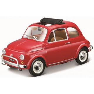 Obrázek 1 produktu Burago Fiat 500L (1968) 1:24 červený