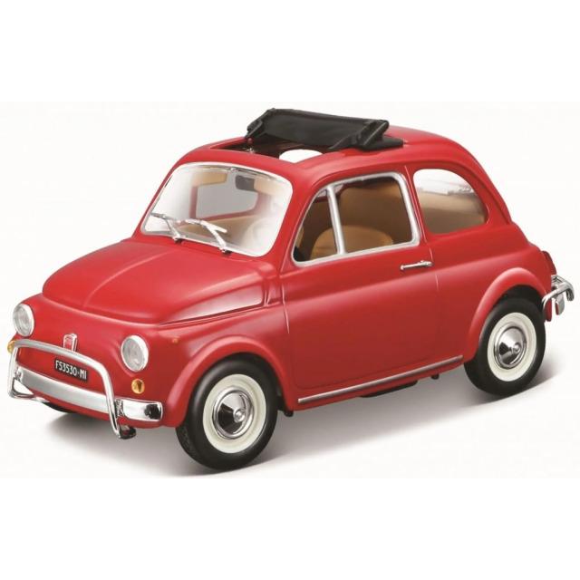 Obrázek produktu Burago Fiat 500L (1968) 1:24 červený
