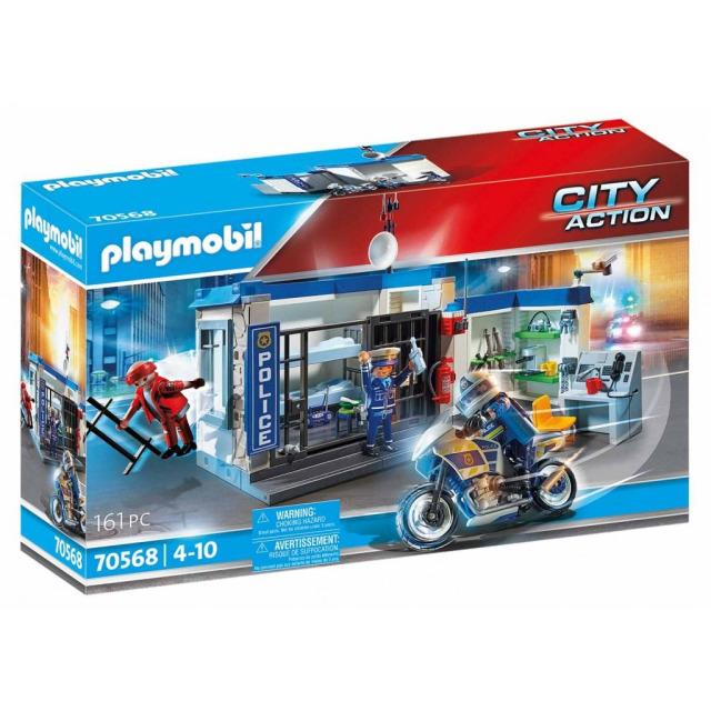 Obrázek produktu Playmobil 70568 Policie: Útěk z vězení