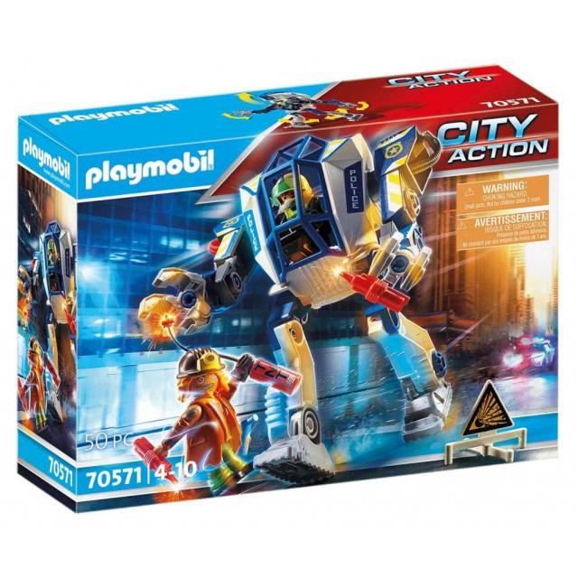 Obrázek produktu Playmobil 70571 Policejní robot: Zvláštní nasazení