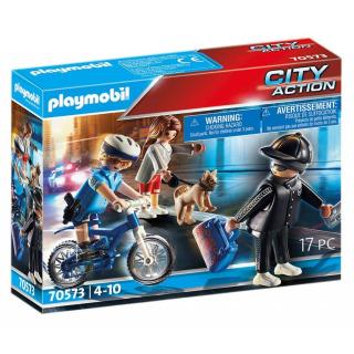 Obrázek 1 produktu Playmobil 70573 Policejní kolo: Pronásledování kapsáře