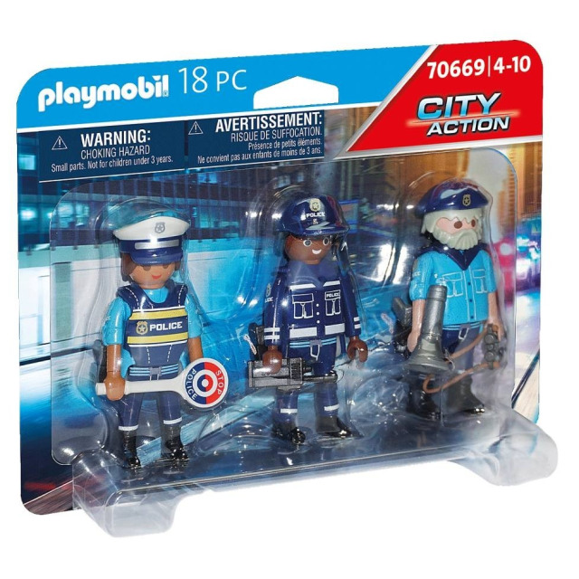 Obrázek produktu Playmobil 70669 Set figurek Policie