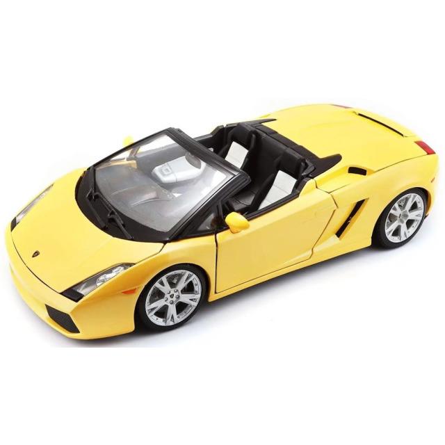 Obrázek produktu Burago Lamborghini Gallardo Spyder yellow 1:18