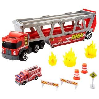 Obrázek 1 produktu Matchbox Hasičské auto Fire Rescue Hauler, Mattel GWM23
