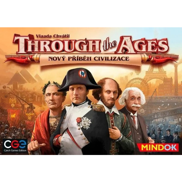 Obrázek produktu Mindok Through the Ages: Nový příběh civilizace, strategická hra