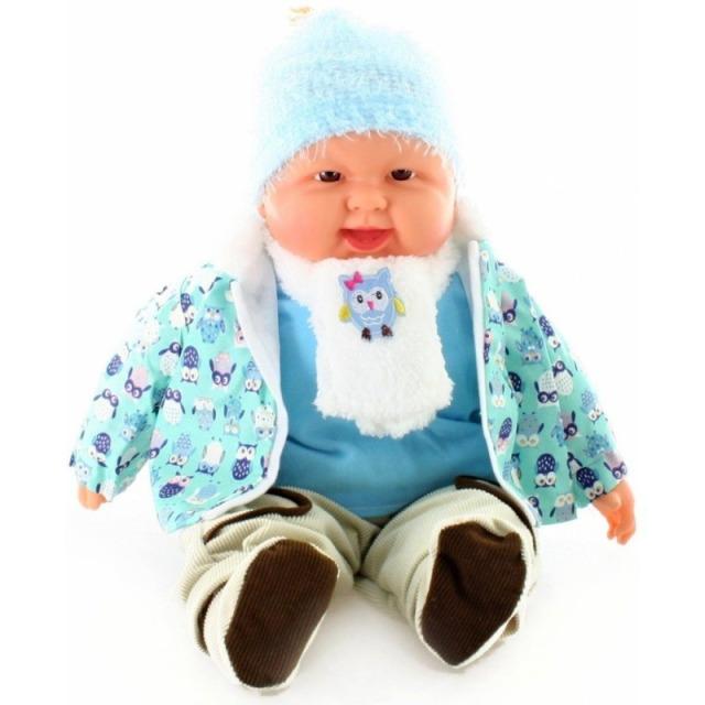 Obrázek produktu Miminko velké - kluk v oblečku se sovičkou