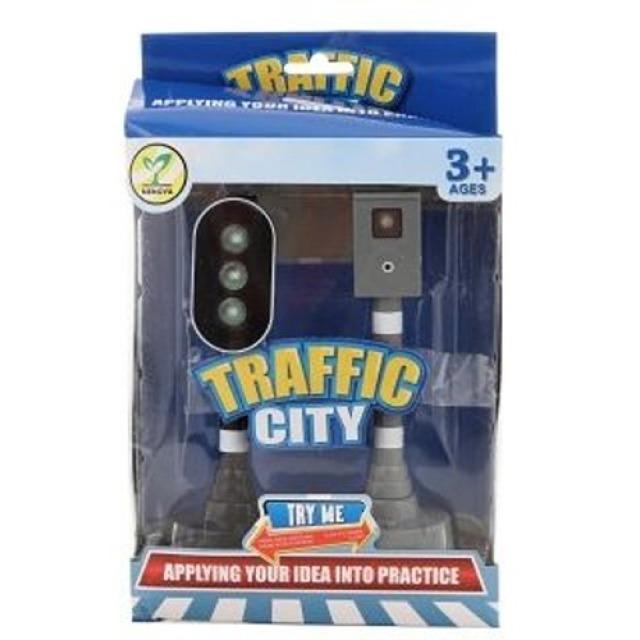 Obrázek produktu Sada 2 semaforů Traffic City