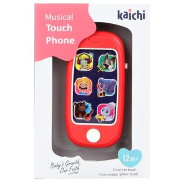 Obrázek produktu Baby dotykový telefon na baterie, Kaichi