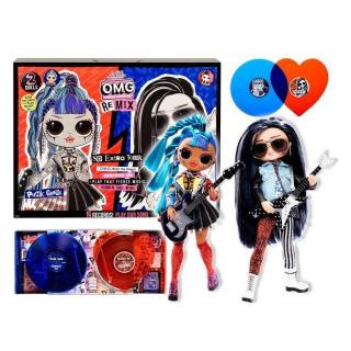 Obrázek 1 produktu L.O.L. Surprise! OMG Velká ségra a Velký brácha Punk grrrl a Rocker Boi