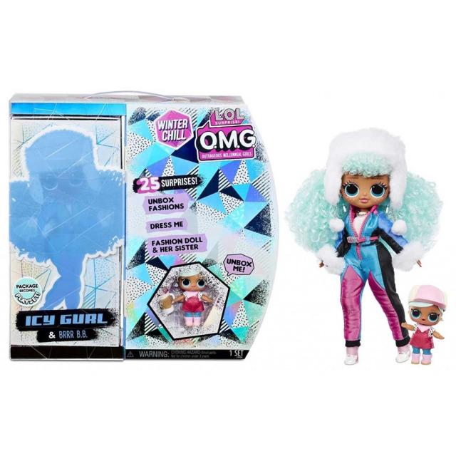 Obrázek produktu MGA L.O.L. SURPRISE Zimní velká ségra OMG - Icy Gurl & Brrr B.B.