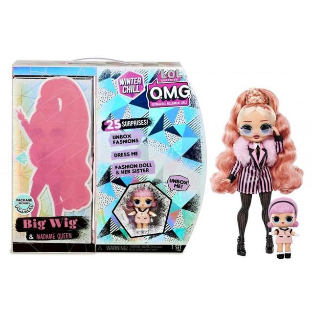 Obrázek produktu MGA L.O.L. SURPRISE Zimní velká ségra OMG - Big Wig & Madame Queen