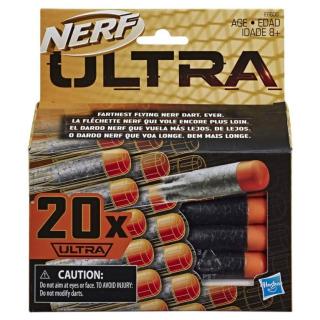 Obrázek 1 produktu NERF ULTRA náhradní šipky 20ks, Hasbro E6600