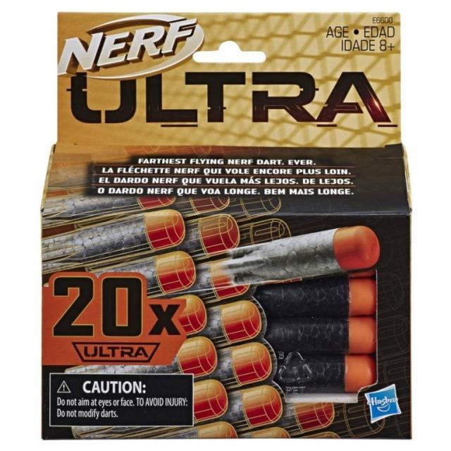 Obrázek produktu NERF ULTRA náhradní šipky 20ks, Hasbro E6600