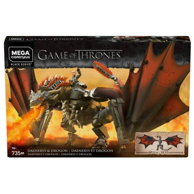 Obrázek produktu Mega Bloks Hra o trůny Drak DROGON, Mattel GKG97