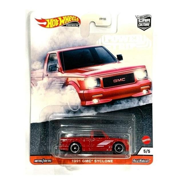 Obrázek produktu HW Prémiové auta velikáni 1991 GMC Syclone, Mattel GJR01