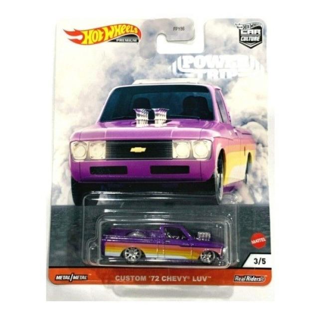Obrázek produktu HW Prémiové auta velikáni Custom ´72 Chevy Luv, Mattel GJR03