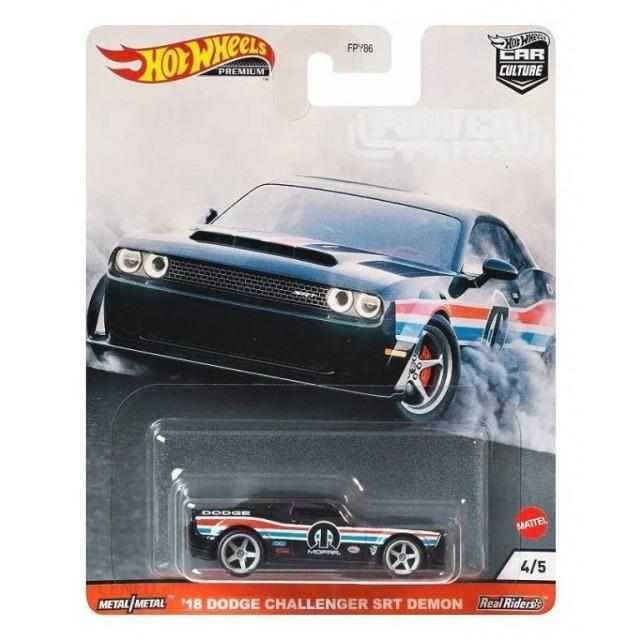 Obrázek produktu HW Prémiové auta velikáni ´18 Dodge Challenger SRT Demon, Mattel GJR04