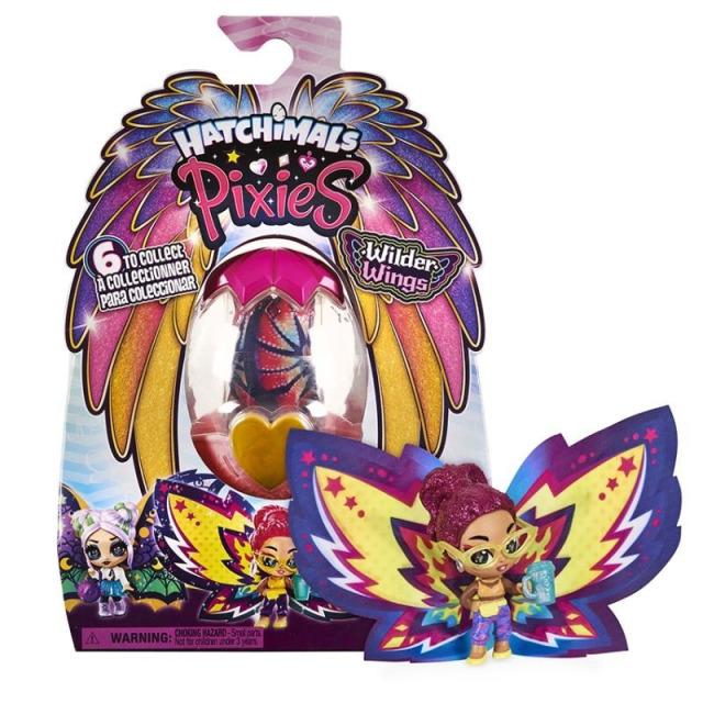 Obrázek produktu Hatchimals PixieS Wilder Wings Víla s křídly