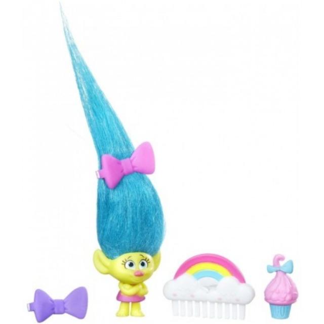 Obrázek produktu TROLLS Malá postavička s extra dlouhými vlasy, Smidge
