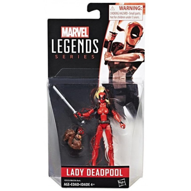 Obrázek produktu Spiderman Legends Series prémiová figurka Marvels Lady Deadpool, Hasbro C0325