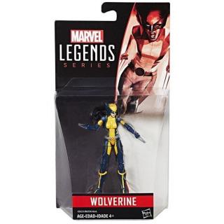 Obrázek 1 produktu Spiderman Legends Series prémiová figurka Wolverine, Hasbro C0321