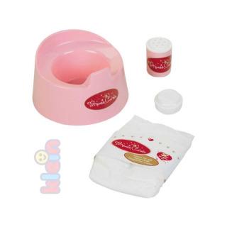 Obrázek 1 produktu Klein Nočník pro panenky s doplňky růžový