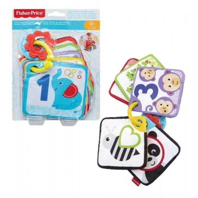 Obrázek produktu Fisher Price 1-až-5 Naučné karty, Mattel GFX90