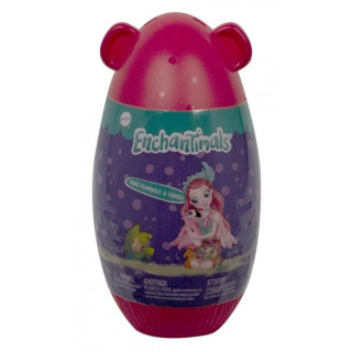 Obrázek 1 produktu ENCHANTIMALS Panenka ve vajíčku Fanci Flamingo & Swash, Mattel GTM34/GPL94