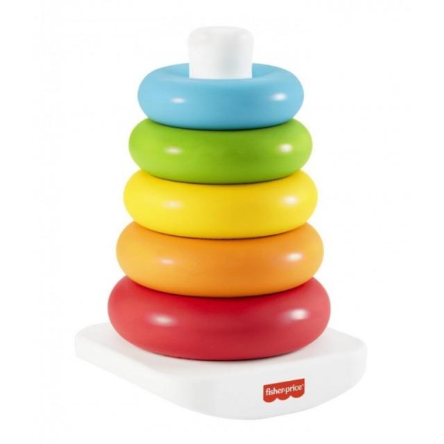 Obrázek produktu Fisher Price ECO kroužky na tyči, Mattel GRF09