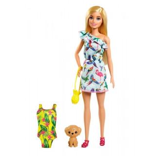 Obrázek 1 produktu Mattel Barbie a Chelsea Ztracené narozeniny Sestra se žlutými plavkami, GRT87