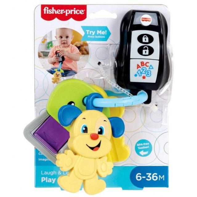 Obrázek produktu Fisher Price  Svazek klíčů CZ, Mattel GRF20