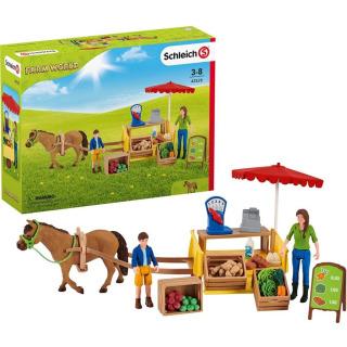 Obrázek 1 produktu Schleich 42528 Mobilní farmářský stánek
