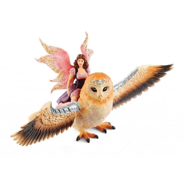 Obrázek produktu Schleich 70713 Elfí víla na třpytivé sově