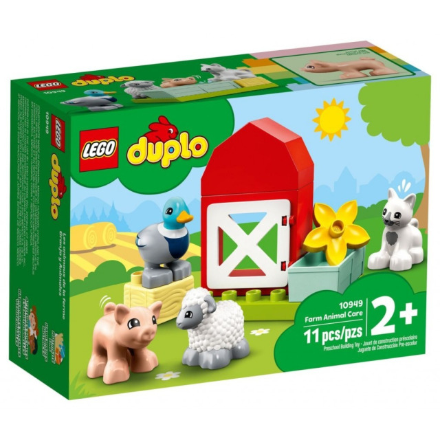Obrázek produktu LEGO DUPLO 10949 Zvířátka z farmy