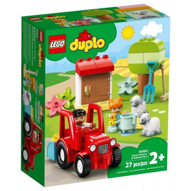 Obrázek produktu LEGO DUPLO 10950 Traktor a zvířátka z farmy