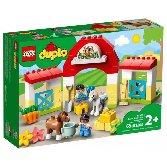 Obrázek produktu LEGO DUPLO 10951 Stáj s poníky