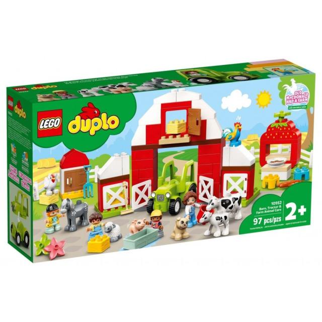Obrázek produktu LEGO DUPLO 10952 Stodola, traktor a zvířátka z farmy