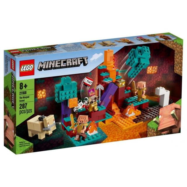 Obrázek produktu LEGO Minecraft 21168 Podivný les