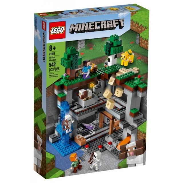 Obrázek produktu LEGO Minecraft 21169 První dobrodružství