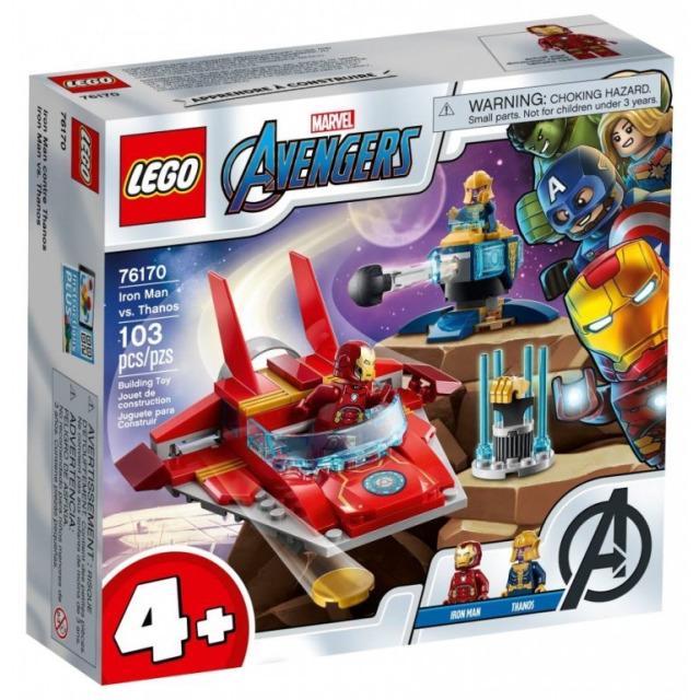 Obrázek produktu LEGO Super Heroes 76170 Iron Man vs. Thanos