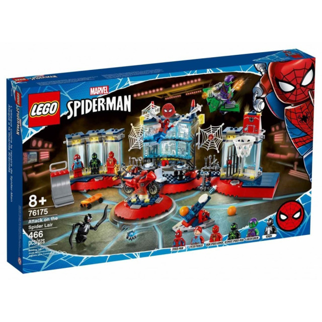 Obrázek produktu LEGO Super Heroes 76175 Útok na pavoučí doupě