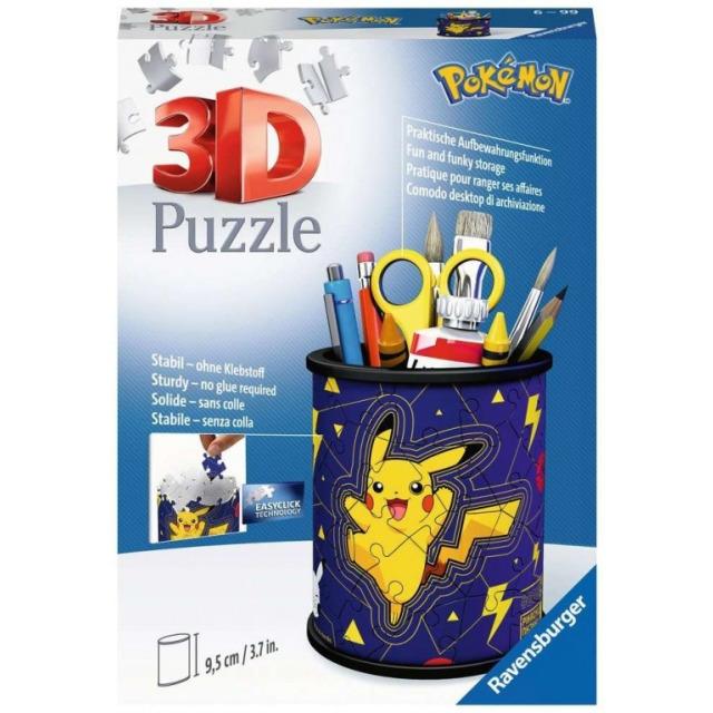 Obrázek produktu Ravensburger 11257 Puzzle 3D Stojan na tužky Pokémon 54 dílků