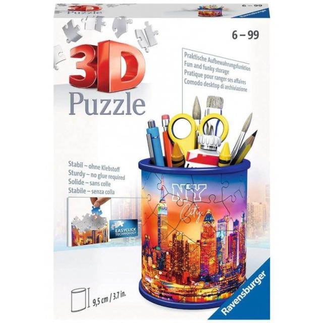 Obrázek produktu Ravensburger 11201 Puzzle 3D Stojan na tužky New York 54 dílků