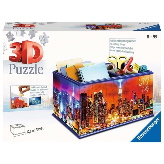 Obrázek produktu Ravensburger 11227 Puzzle 3D Úložná krabice New York 216 dílků