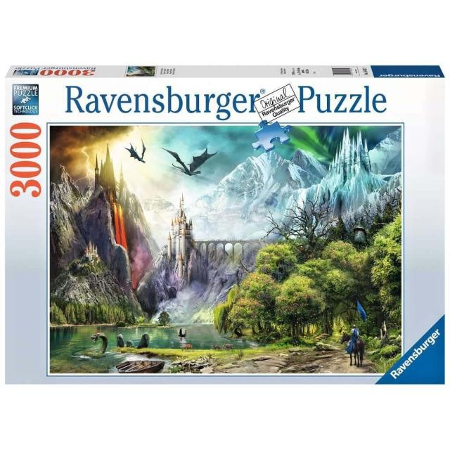 Obrázek produktu Ravensburger 16462 Puzzle Vláda draků 3000 dílků