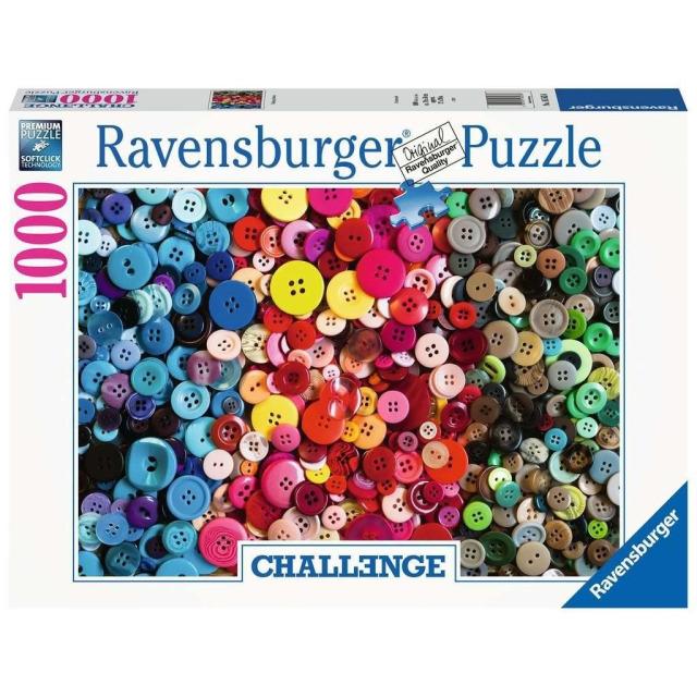 Obrázek produktu Ravensburger 16563 Puzzle Knoflíky Výzva 1000 dílků
