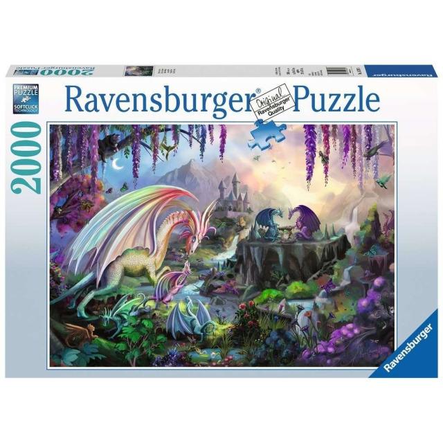 Obrázek produktu Ravensburger 16707 Puzzle Dračí údolí 2000 dílků