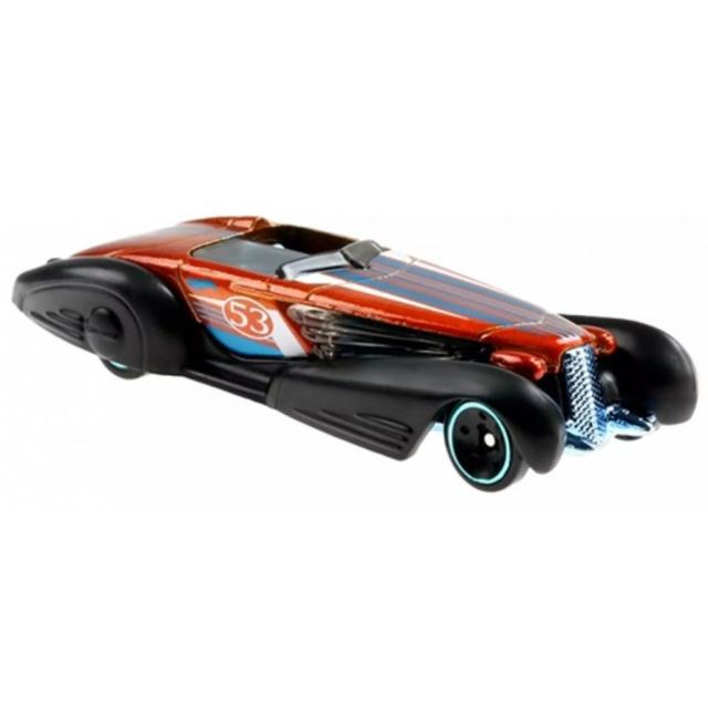 Obrázek produktu Hot Wheels Orange & Blue tematický angličák CUSTOM CADILLAC FLEETWOOD, Mattel GRR42